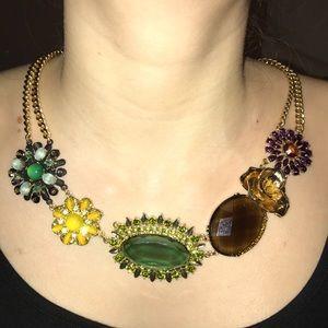 Banana republic brooch necklace